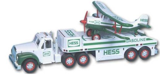 2002 Hess B-Mack Airplane Transport - MIB From Case