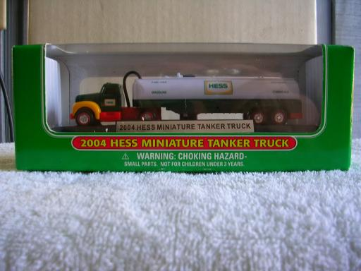 Hess 2004 Mini B-mack Tanker Truck - 7th in the series