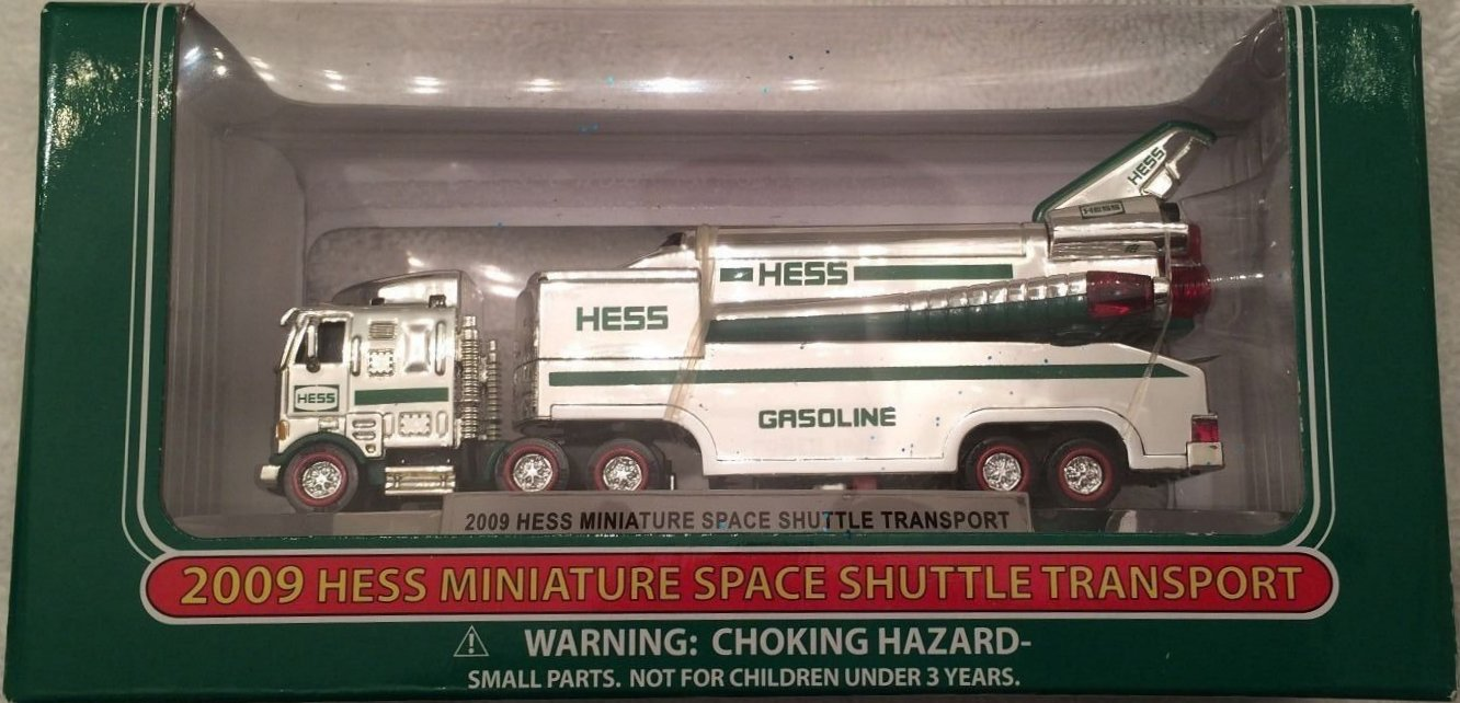 2009 Hess Chrome Mini Space Shuttle - 24 Made for Private Gift to Hess Family