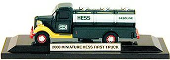 2000 Hess Mini First Truck Third in The Series