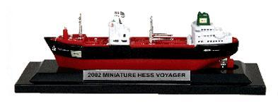 2002 Hess Mini Voyager Fifth in The Series