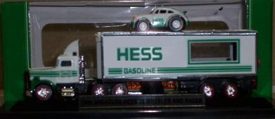 Hess 2006 Mini 18 Wheel Race Car Transport Truckr - ninth in the Series