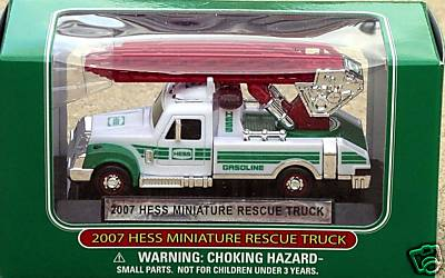 2007 Hess Emergency Truck - 10th in the series