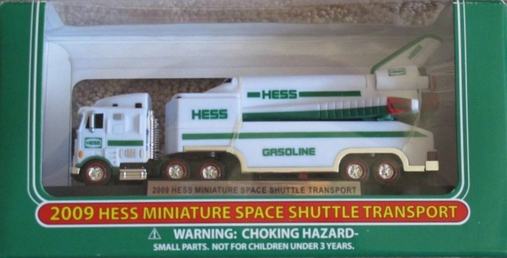 New 2006 Hess Chrome Mini First Truck - NYSE Celebration Truck Less Than 100 made