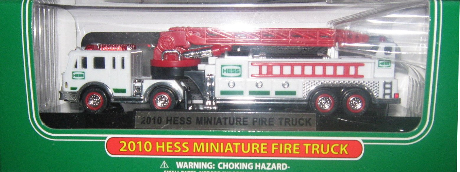 New 2010 Hess Mini 18 Wheel Fire Truck  - 13th in the Series
