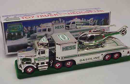 Hess 1995 Chrome Helicopter Transport