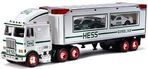 1997 Hess Dual Car Transport Truck