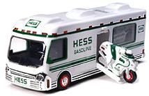1998 Hess RV with Dune Buggy & Motorcycle