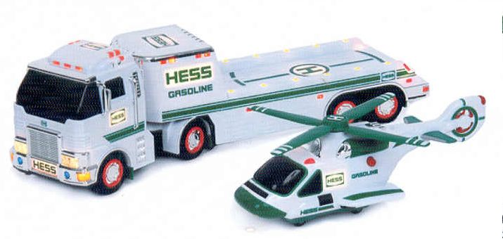Hess 2006 Toy Truck and Helicopter MIB from Case